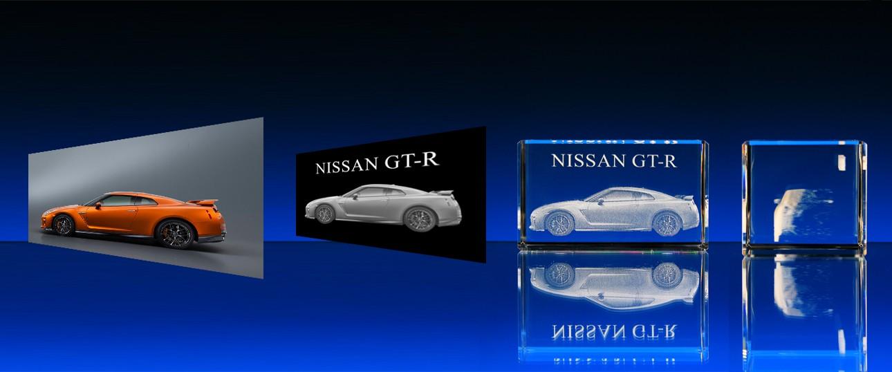 3D laser fotek automobilů